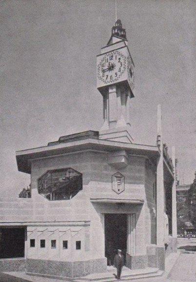 Pavillon des postes et télégraphes