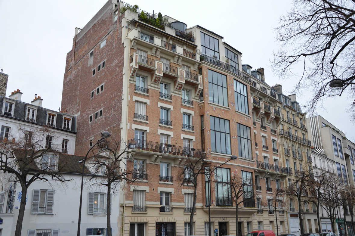 Architecture Art nouveau et Art déco autour de Montparnasse