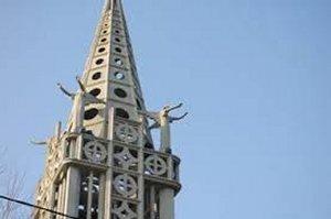 Églises reconstruites en Picardie