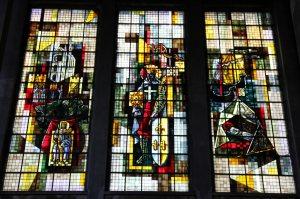 Les vitraux de l'église Saint-Louis de Brest