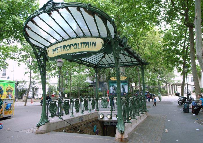 Les stations de m tro art d co paris - Art nouveau architecture de barcelone revisitee ...