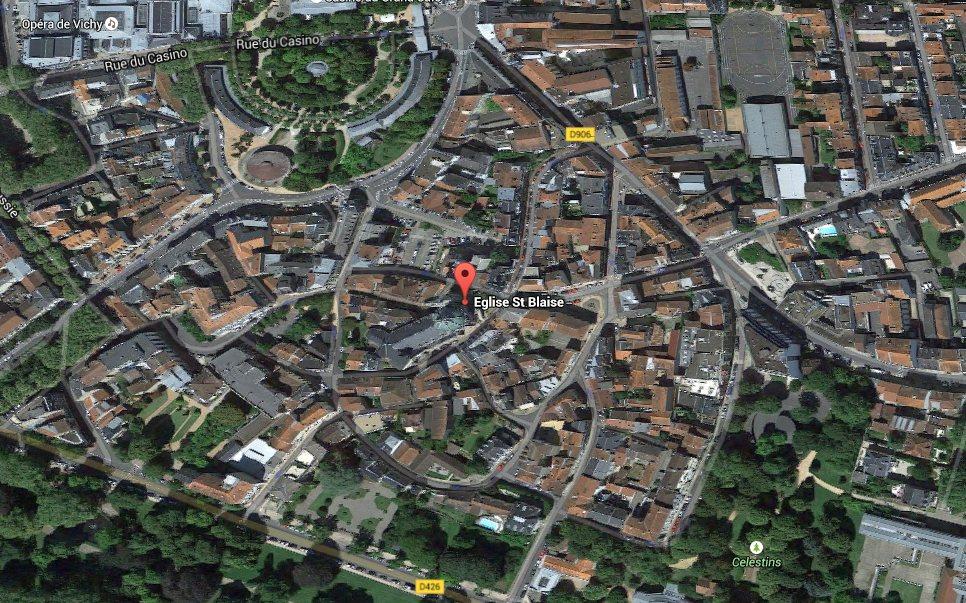 Notre-Dame sur Google Maps
